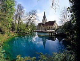 Blautopf Quellsee Blaubeuren / NaturOrte