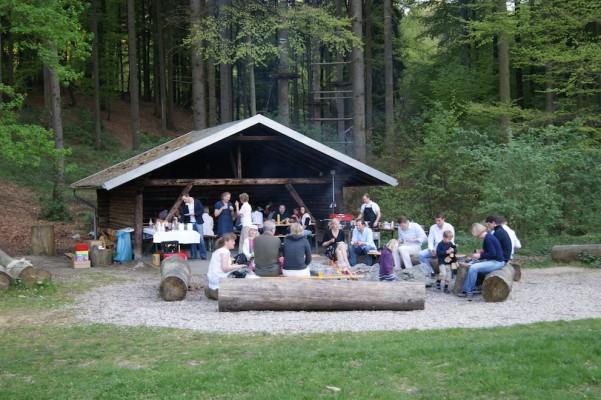 Naturfreundehaus Teutoburg – Lagerfeuer
