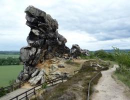 Teufelsmauerstieg, Harz, Familienwandern