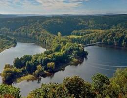 Stausee Bleilochtalsperre / NaturOrte